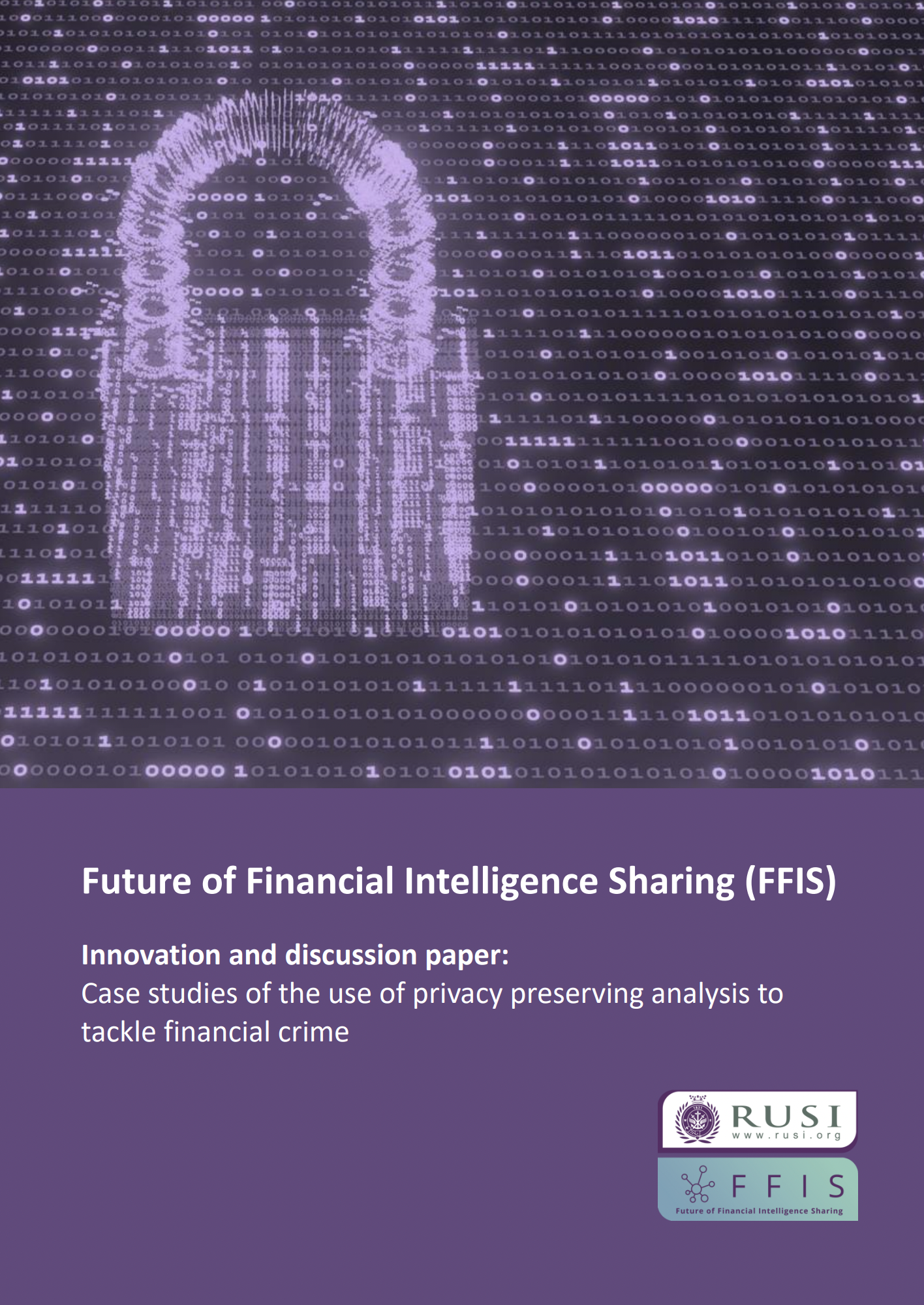 Case studies of the use of privacy preserving analysis to tackle financial crime